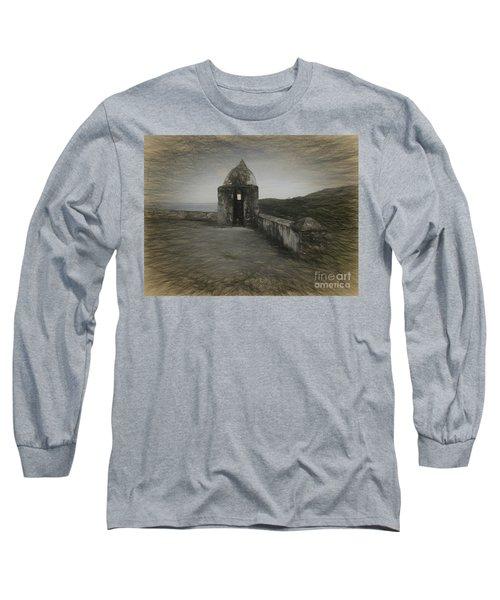 Umatac Guam- Spanish Lookout Long Sleeve T-Shirt