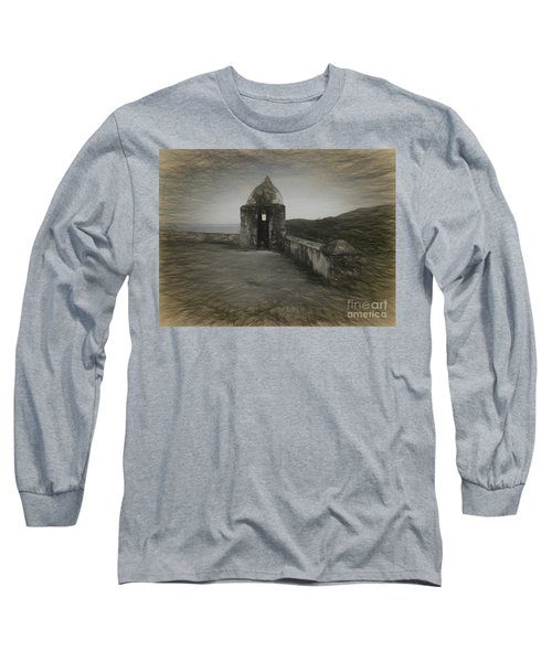 Umatac Guam- Spanish Lookout Long Sleeve T-Shirt