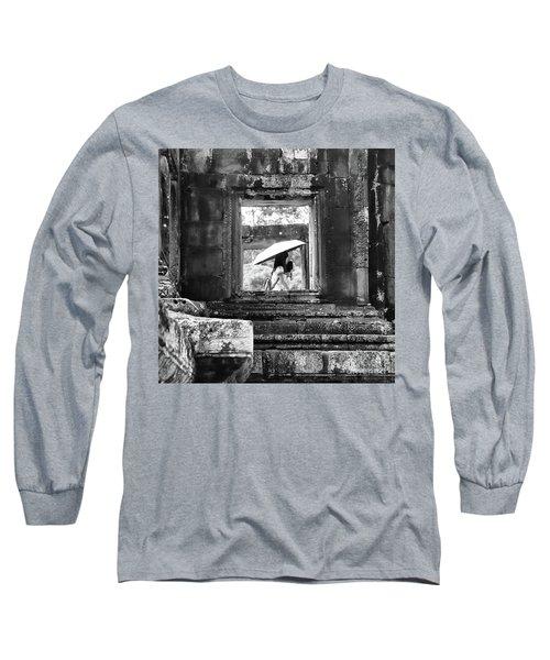 Umbrella Angkor Wat  Long Sleeve T-Shirt