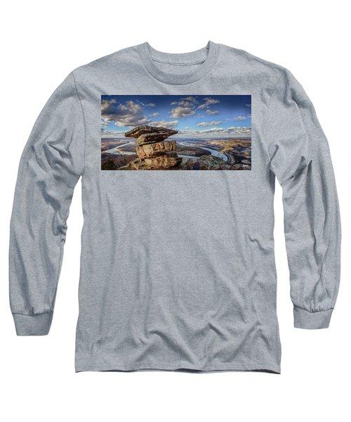 Umbrella Rock Overlooking Moccasin Bend Long Sleeve T-Shirt