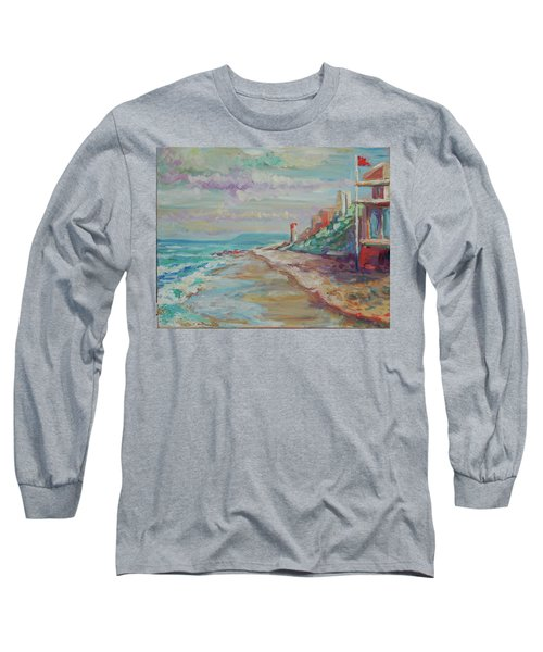 Umhlanga Light House And Beach Long Sleeve T-Shirt