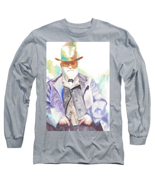 Uncle David Nation, Circa 1900 Long Sleeve T-Shirt