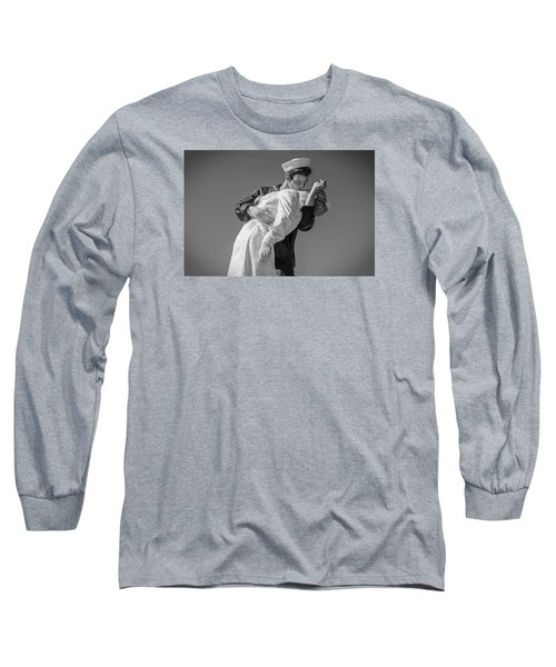 Unconditional Surrender 3 Long Sleeve T-Shirt by Susan  McMenamin