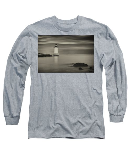 Long Sleeve T-Shirt featuring the photograph Under A Pale Grey Sky by Brian Hale