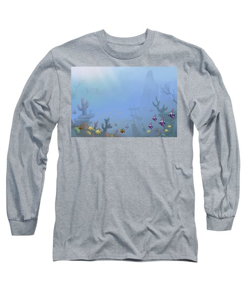 Under Sea 01 Long Sleeve T-Shirt