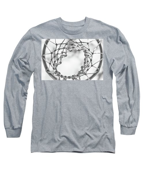 Under The Net Long Sleeve T-Shirt by Karol Livote