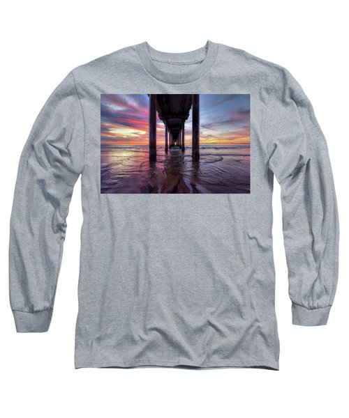 Under The Pier Sunset Long Sleeve T-Shirt