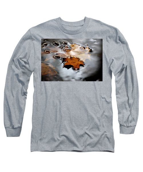 Under Water Fall Long Sleeve T-Shirt
