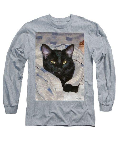 Undercover Kitten Long Sleeve T-Shirt