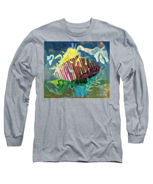 Undersea Still Life Long Sleeve T-Shirt by Sarah Loft