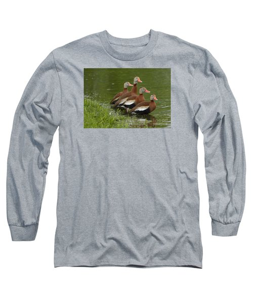 Unexpected Visitors Long Sleeve T-Shirt by Randy Bodkins