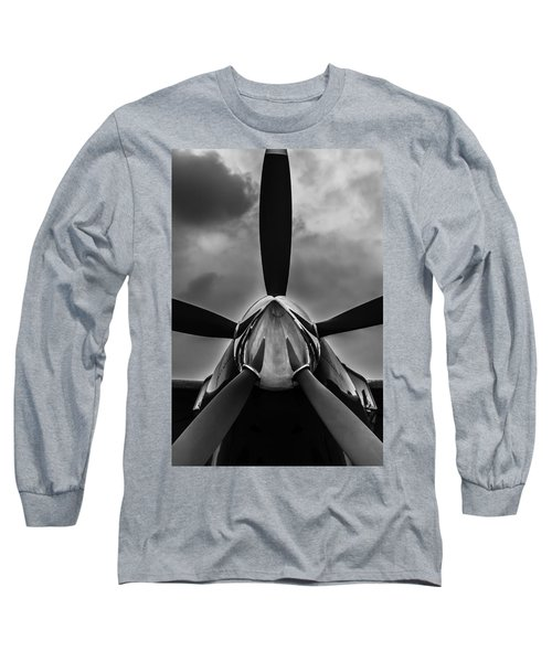 Long Sleeve T-Shirt featuring the photograph Unflyable Weather by Alexander Senin