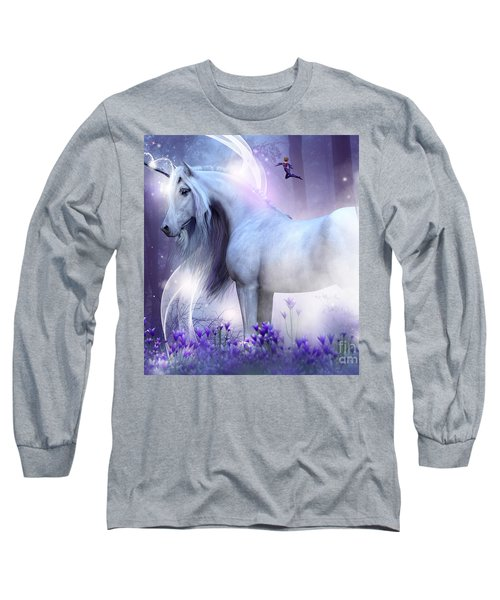 Unicorn Kisses Long Sleeve T-Shirt