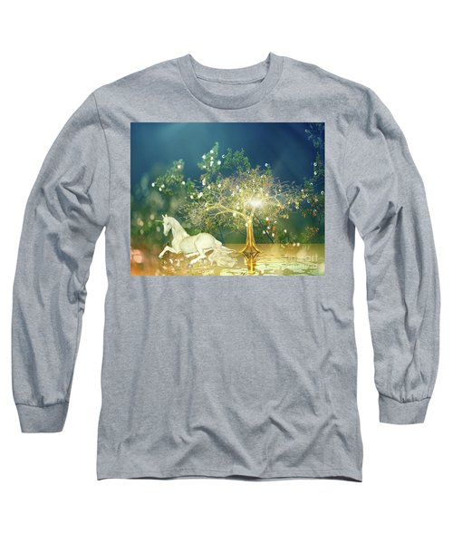 Unicorn Resting Series 2 Long Sleeve T-Shirt