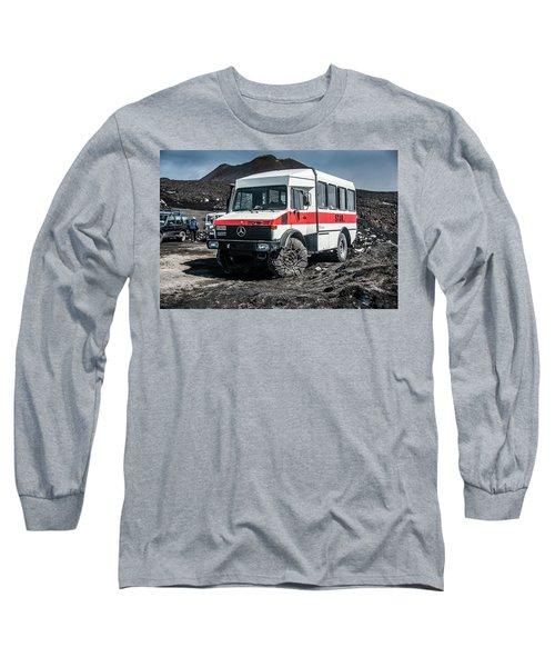 Unimog On Mt. Etna Long Sleeve T-Shirt