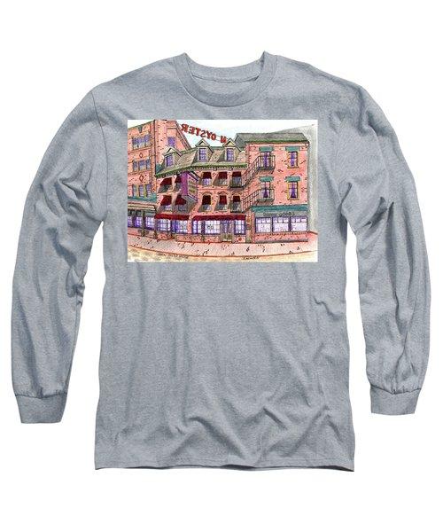 Union Osyter House Boston Long Sleeve T-Shirt by Paul Meinerth