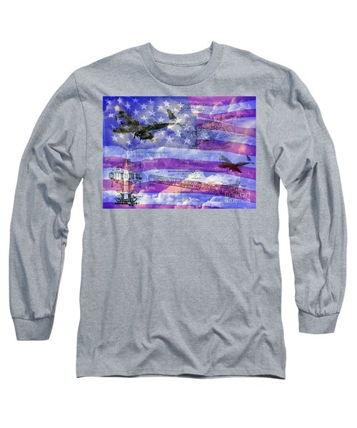 United States Armed Forces One Long Sleeve T-Shirt