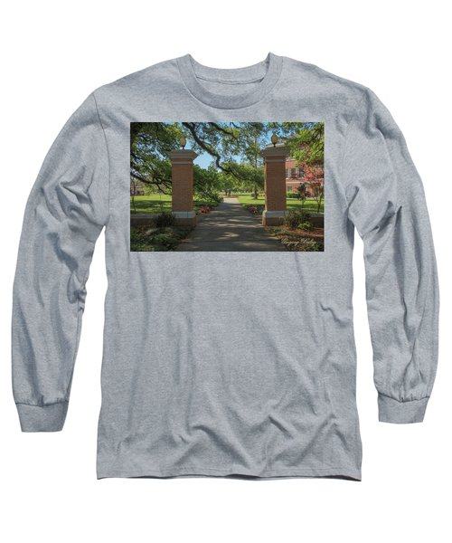 University And Johnston Entrance Long Sleeve T-Shirt by Gregory Daley  PPSA