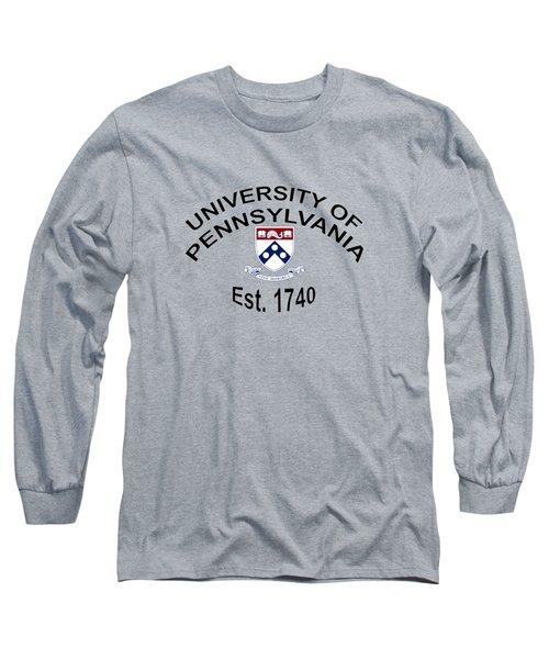 University Of Pennsylvania Est 1740 Long Sleeve T-Shirt