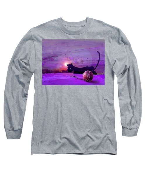 Unravelling Long Sleeve T-Shirt by Miki De Goodaboom