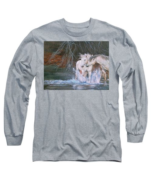 Unspoken Persuasion Long Sleeve T-Shirt by Karen Kennedy Chatham