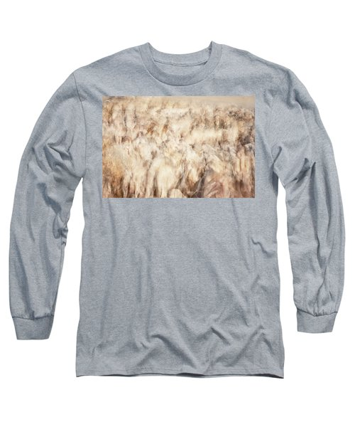 Untitled #3939, From The Soul Searching Series Long Sleeve T-Shirt