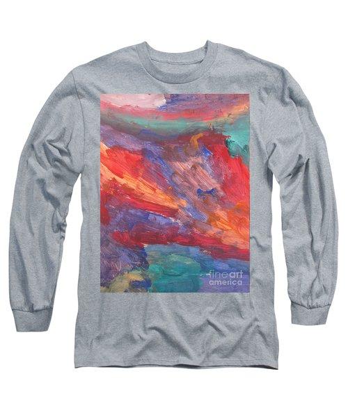 Untitled 95 Original Painting Long Sleeve T-Shirt