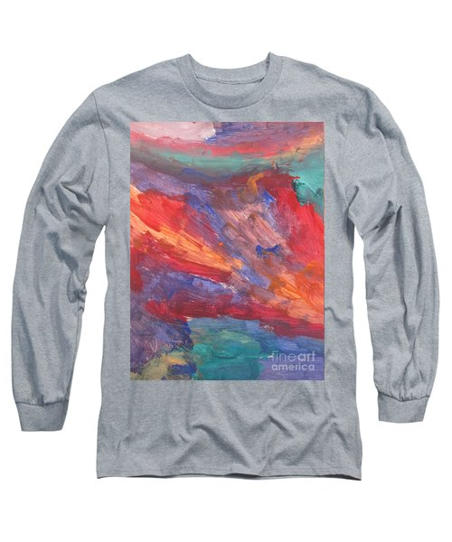 Untitled 95 Original Painting Long Sleeve T-Shirt