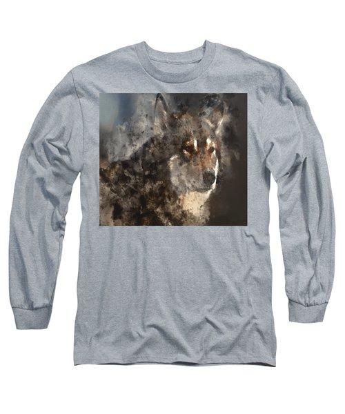 Unwavering Loyalty Long Sleeve T-Shirt by Elaine Ossipov