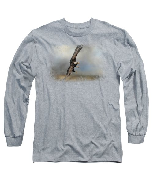 Up Against The Storm Long Sleeve T-Shirt by Jai Johnson