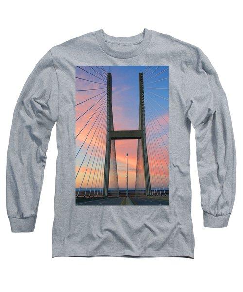 Up On The Bridge Long Sleeve T-Shirt