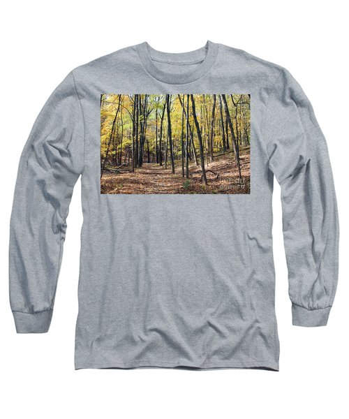 Up The Woodland Trail Long Sleeve T-Shirt