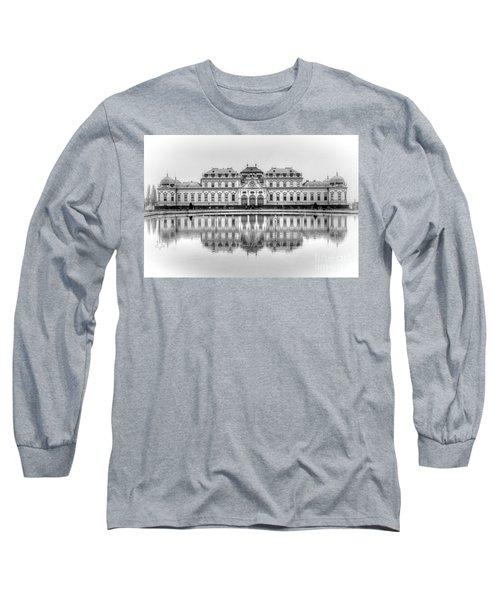 Upper Belvedere Palace, Vienna Long Sleeve T-Shirt
