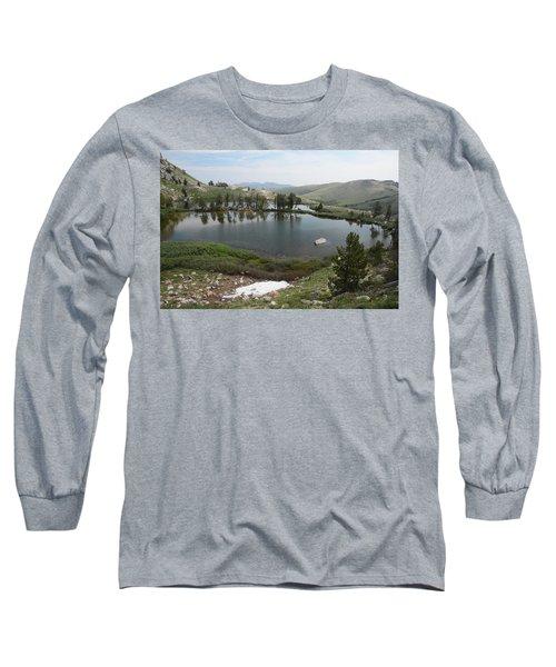 Long Sleeve T-Shirt featuring the photograph Upper Hidden Lake by Jenessa Rahn