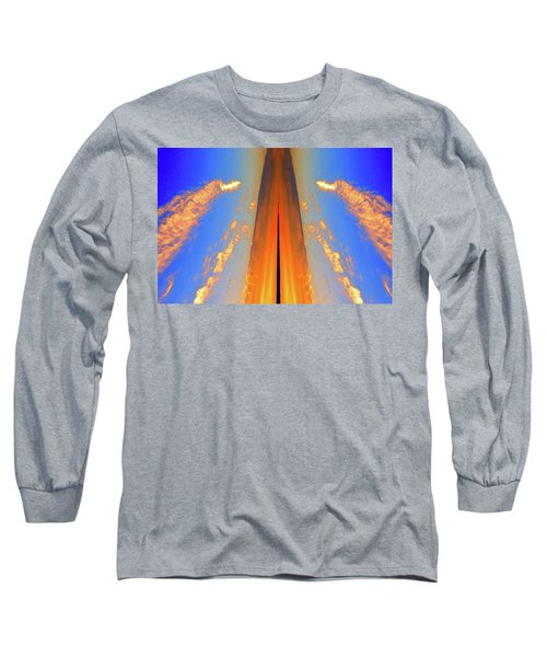 Upwards Two  Long Sleeve T-Shirt by Lyle Crump