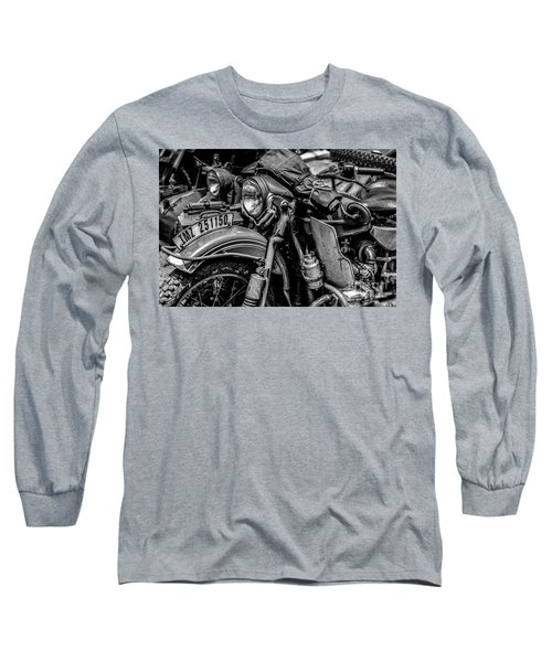 Long Sleeve T-Shirt featuring the photograph Ural Patrol Bike by Anthony Citro