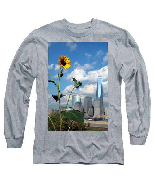 Long Sleeve T-Shirt featuring the photograph Urban Contrast by Michael Dorn