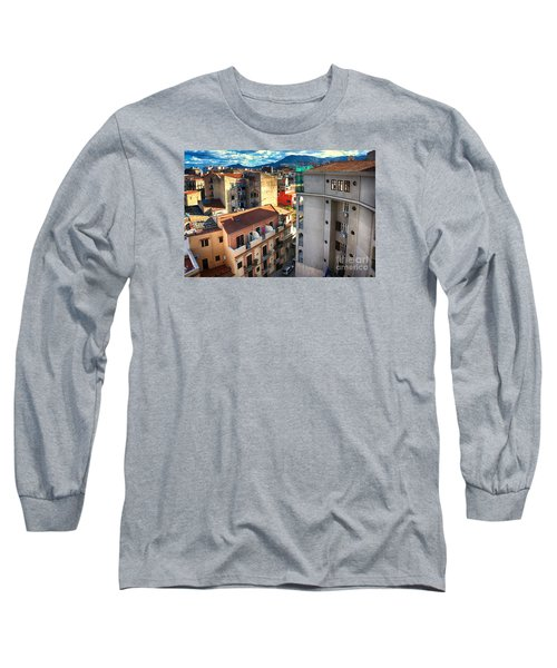 Urban Landscape In Palermo Long Sleeve T-Shirt