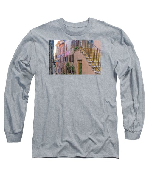 Urban View With Laundary Long Sleeve T-Shirt