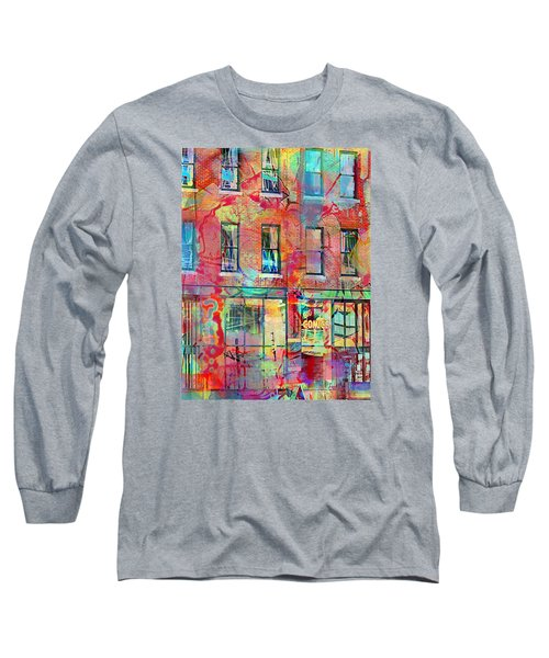 Urban Wall Long Sleeve T-Shirt by Susan Stone