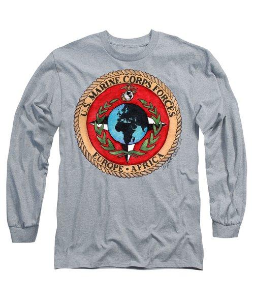 U.s. Marine Corps Forces Europe - Africa Long Sleeve T-Shirt