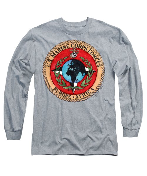 U.s. Marine Corps Forces Europe - Africa Long Sleeve T-Shirt