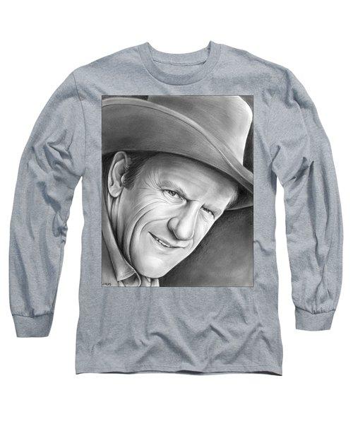 Gunsmoke's Matt Dillon Long Sleeve T-Shirt