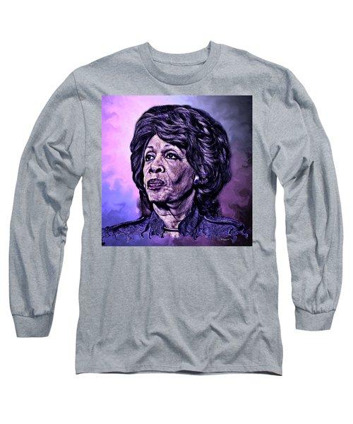 Us Representative Maxine Water Long Sleeve T-Shirt