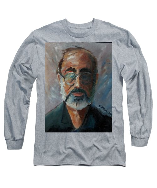 Long Sleeve T-Shirt featuring the painting Used To Be Me by Gary Coleman