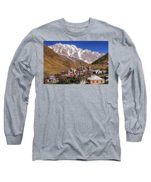 Ushguli And  Shkhara Mount Long Sleeve T-Shirt