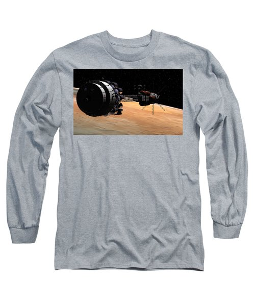 Uss Hermes 1 In Orbit Long Sleeve T-Shirt