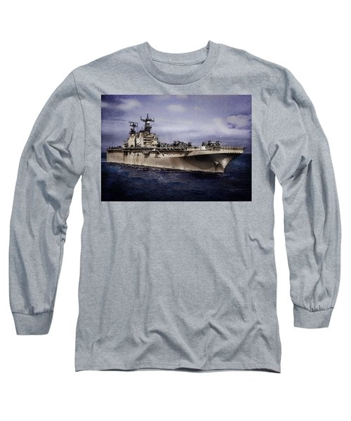 Uss Iwo Jima Lph2 Long Sleeve T-Shirt