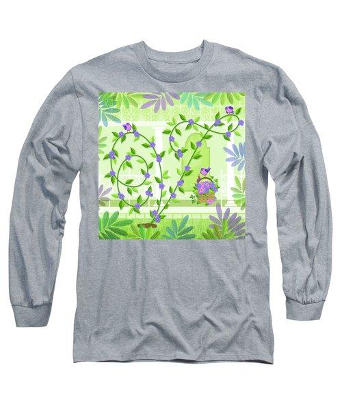 V Is For Vine And Veranda Long Sleeve T-Shirt