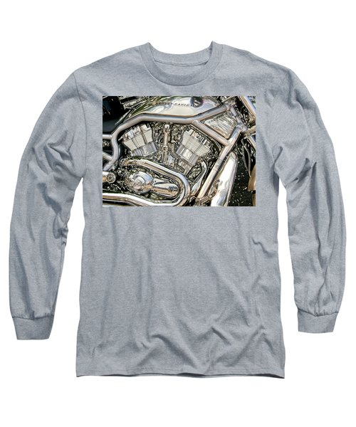 V-rod Titanium Long Sleeve T-Shirt